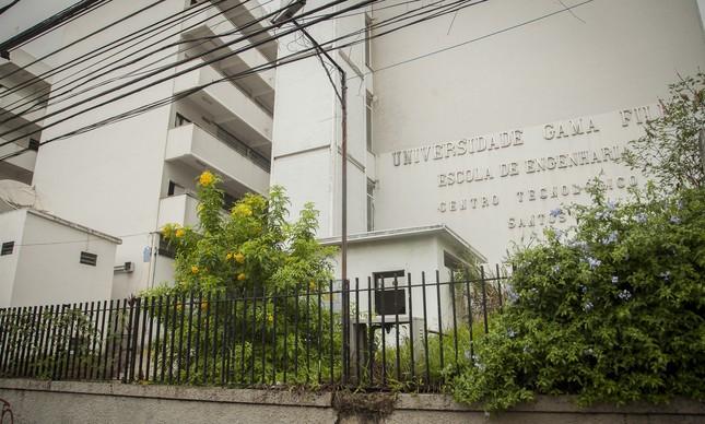 Faculdade de Engenharia e Arquitetura da Gama Filho: um conjunto de três prédios