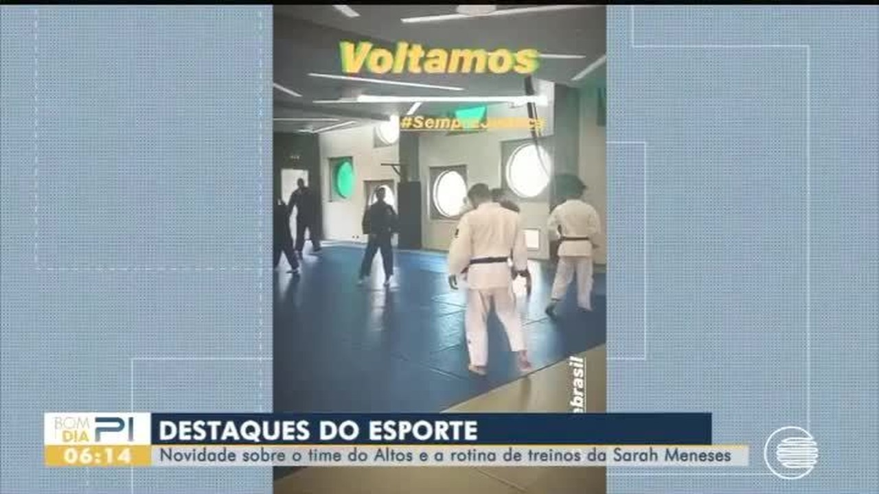 Altos apresenta novidades e Sarah Menezes mostra nova rotina de treinos