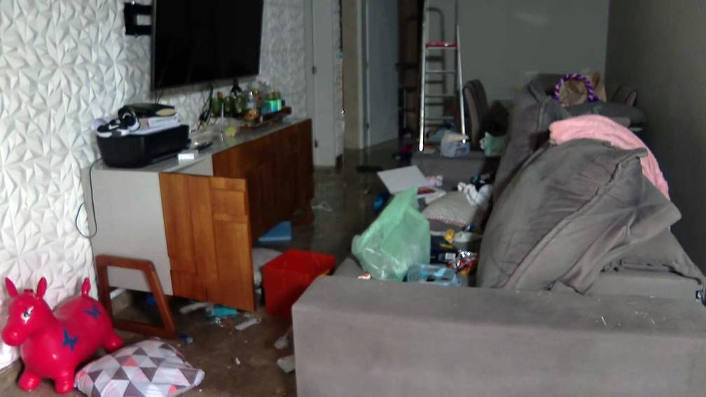 Ecko foi baleado dentro de um quarto, ao tentar fugir — Foto: Reprodução/TV Globo