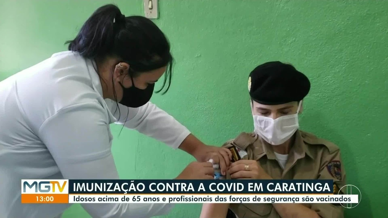 Vacinação é retomada em Caratinga