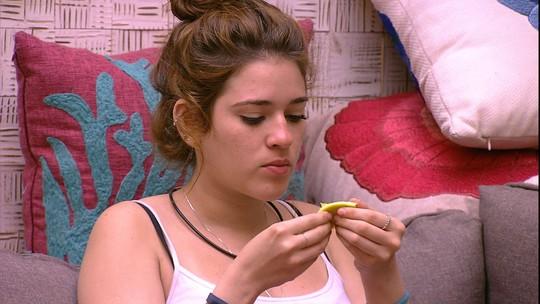 Ana Clara garante: 'Aqui estou me revelando uma pessoa tão calma'