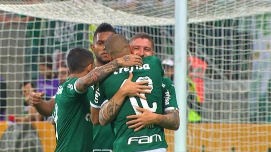 Os gols de Palmeiras 2 x 0 Sampaio Corrêa pela Copa do Brasil