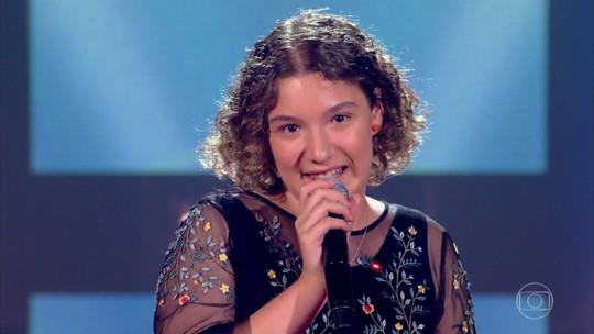 Camila Woloszyn é a primeira gaúcha a passar nas Audições às Cegas do 'The Voice Kids'