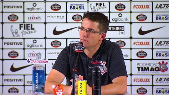 Loss lamenta desfalques e pouco tempo para treinar, mas promete Corinthians melhor após a Copa do Mundo
