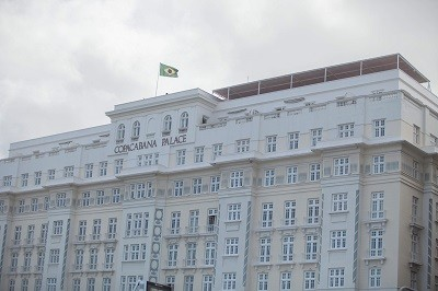 Fachada do Copacabana Palace