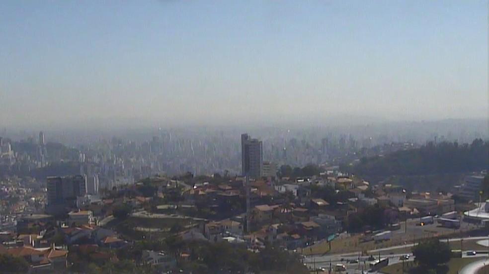 Fim de semana será gelado em Belo Horizonte. — Foto: Reprodução/TV Globo