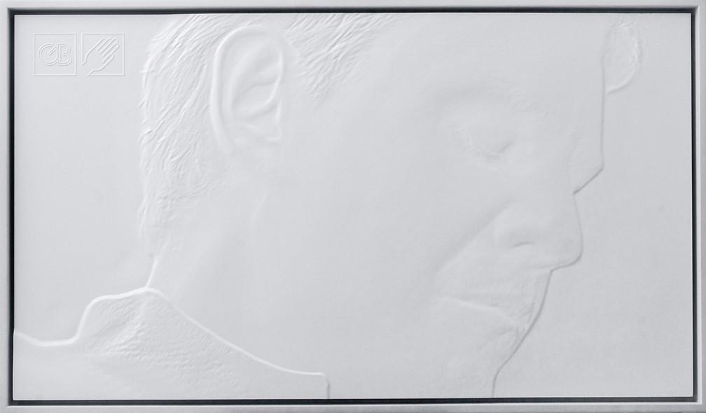 Exposição 'De Fotografia à Tactography', do artista brasileiro Gabriel Bonfim, tem entrada gratuita. (Foto: Divulgação/Prefeitura de Curitiba)