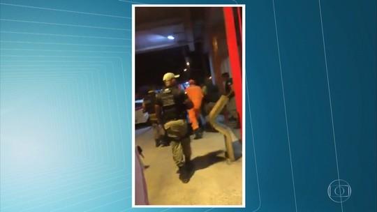 Policial militar e suspeito de crimes morrem em tiroteio em trilho do metrô no Grande Recife