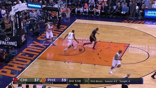 Suns aprontam, e Bulls caem para o lanterna da Conferência Oeste
