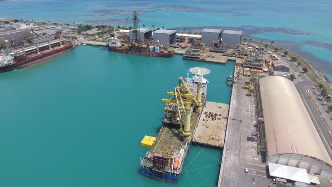 infraestrutura-logistica-porto-maceio (Foto: Reprodução/Twitter)