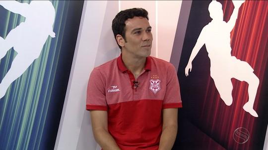 Cláudio Baiano buscará terceiro título estadual com o Sergipe