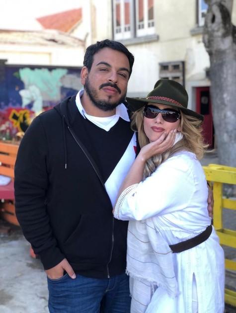 Luis Lobianco e Alda Gomes (Foto: Pablo Escajedo)