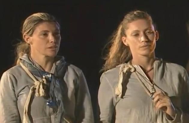 A temporada de 2009 mostrou as primeiras desistências. Denise e Sibele (foto) pediram para sair e foram substituídas por Isabel e Taritza (Foto: Reprodução)