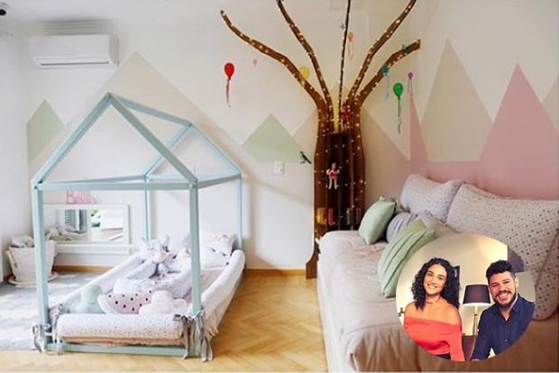 conheça-o-quarto-de-bella-filha-de-debora-nascimento-e-jose-loreto (Foto: Reprodução)