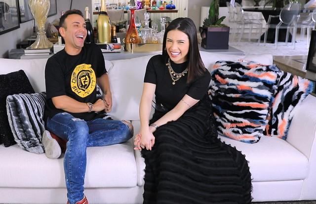 Matheus Mazzafera e Flavia Pavanelli (Foto: Reprodução)