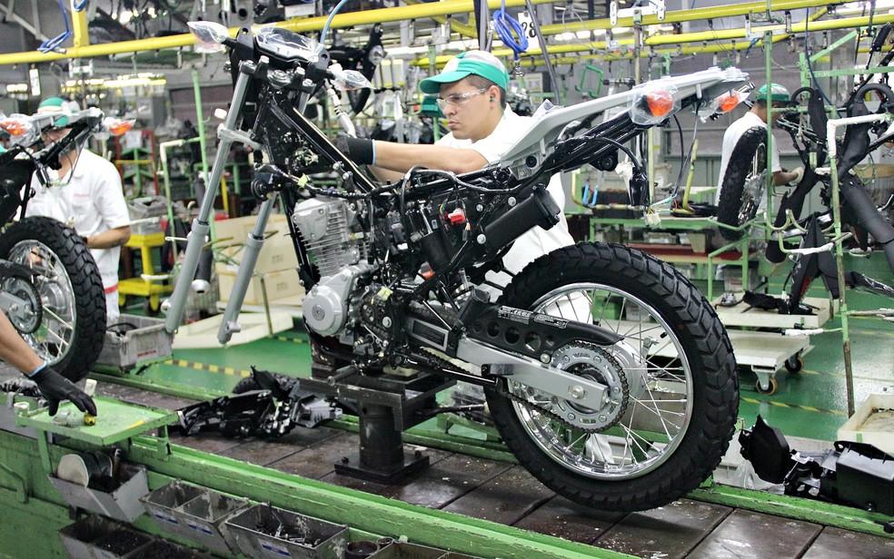 Produção de motos no Polo Industrial de Manaus fecha março com alta de  116,4% | Amazonas | G1