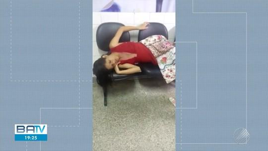 Gestante não consegue atendimento e dá à luz em corredor de hospital com ajuda de outros pacientes na BA