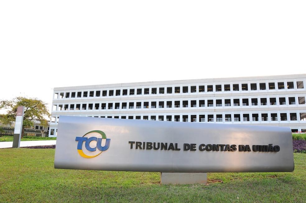 Sede do Tribunal de cotnas da União (TCU), em Brasília. (Foto: Divulgação/TCU)
