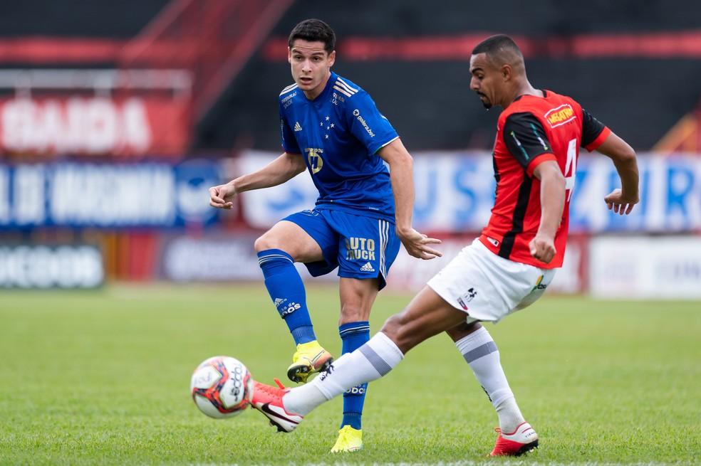 Matheus Barbosa, do Cruzeiro — Foto: Bruno Haddad/Cruzeiro