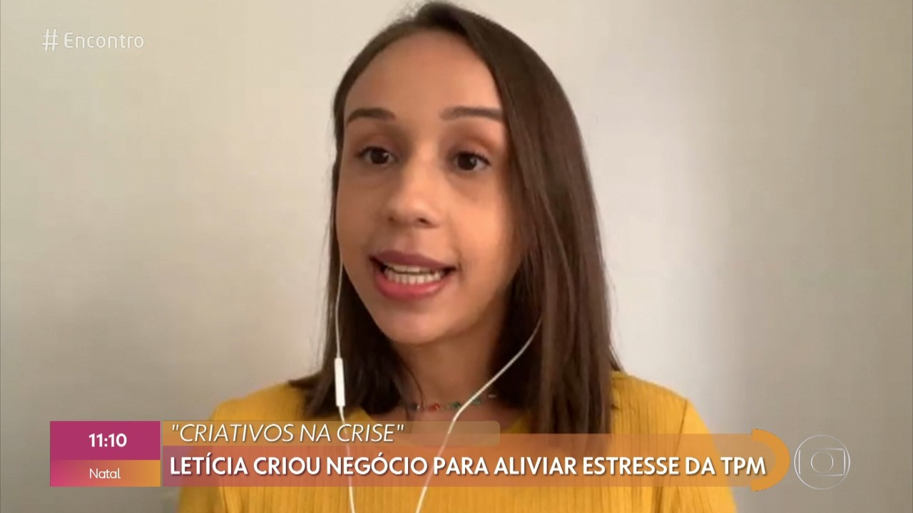 Letícia conseguiu driblar a crise com a 'caixinha da TPM'
