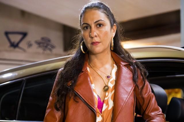 Clarissa Pinheiro é Penha em 'Amor de mãe' (Foto: Reprodução)