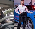 Isabelle Drummond tem um carro elétrico avaliado em mais de R$ 600 mil | Reprodução