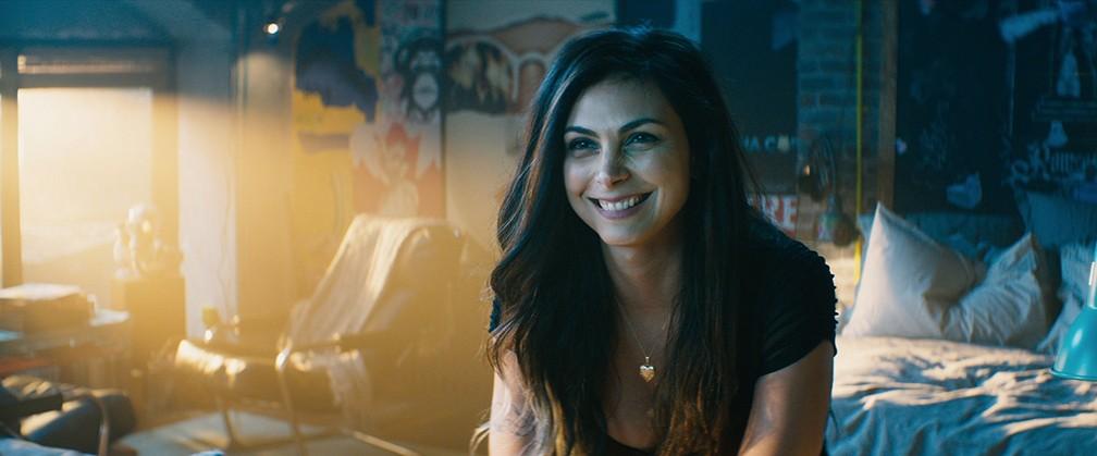 -  Morena Baccarin em cena de   39;Deadpool 2  39;  Foto: Divulgação