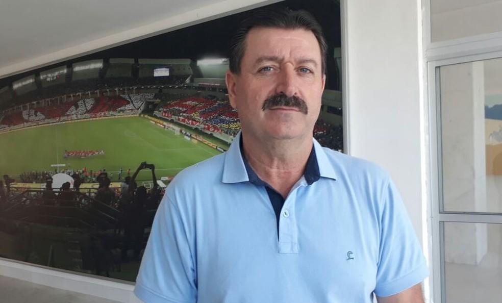 Leandro Campos irá dirigir a equipe do América-RN em 2018 (Foto: Klênyo Galvão/Inter TV Cabugi)