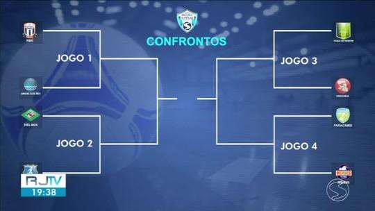 Definidos confrontos das quartas de final da Copa Rio Sul de Futsal
