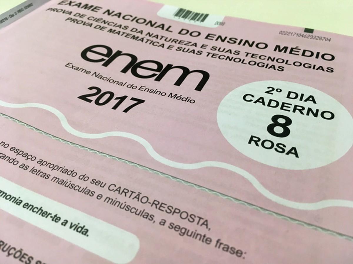 Segundo dia de prova do Enem em RR tem 39,9% de faltosos, diz Inep