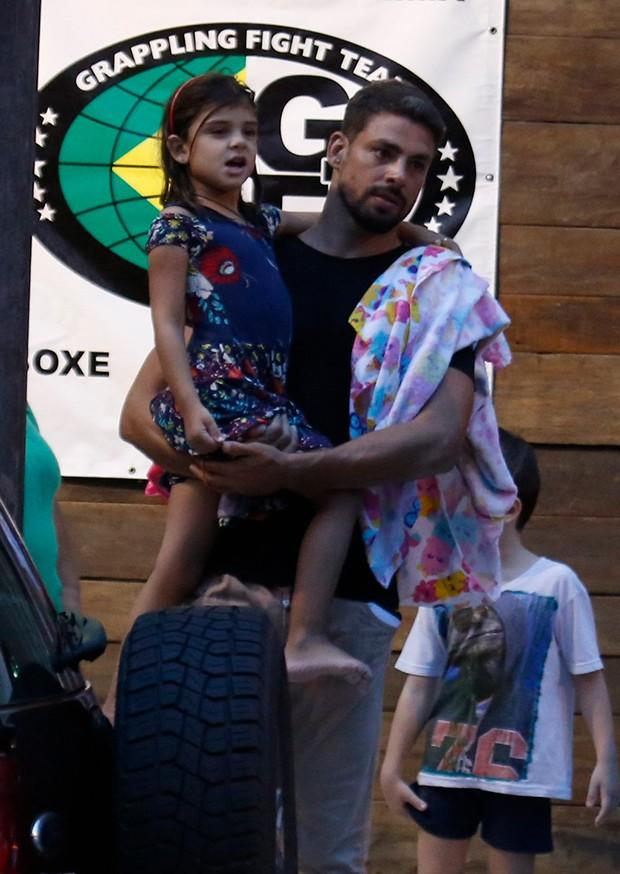 Cauã e Sofia (Foto: AgNews)