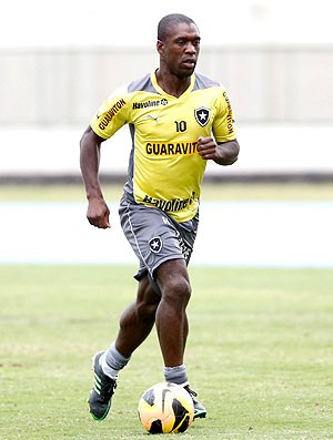 Seedorf treino Botafogo (Foto: Ivo Gonzalez / Agencia O Globo)
