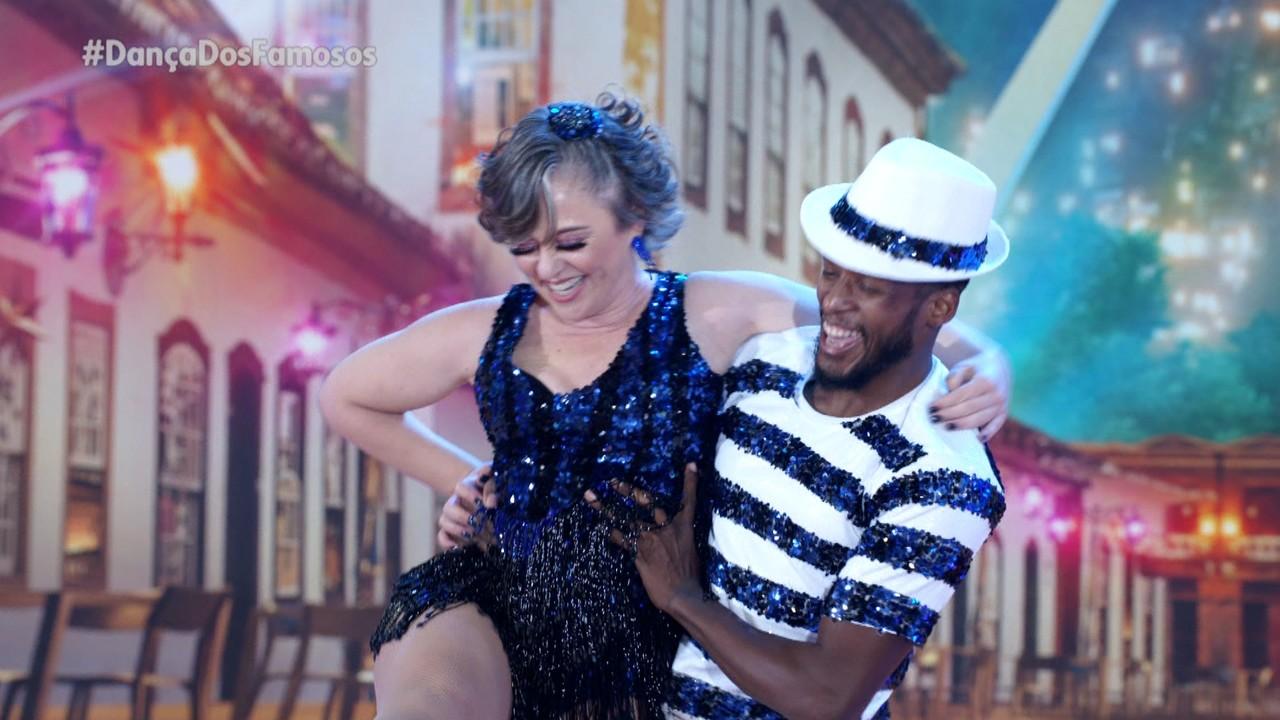 Guta Stresser e Jefferson Bilisco se apresentam com carisma no ritmo do samba