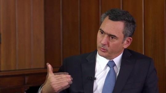 Ministro da Fazenda, Eduardo Guardia, avalia as propostas dos candidatos à Presidência