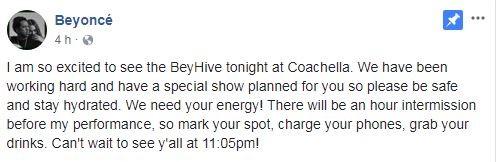 Beyoncé (Foto: Reprodução / Facebook)
