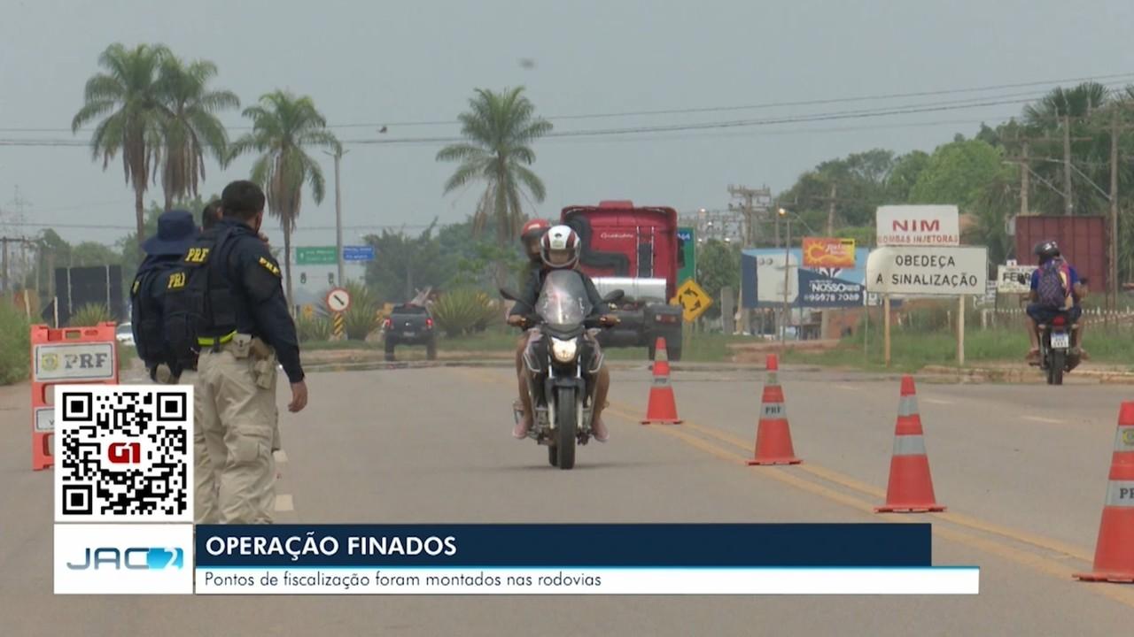PRF inicia Operação Finados 2020 e intensifica fiscalização em rodovias do Acre