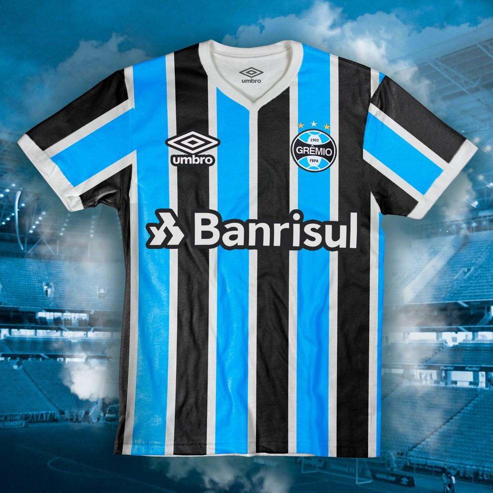 e4d2cac3a1499 Foto de suposta camisa do Grêmio para 2019 circula na internet; veja ...
