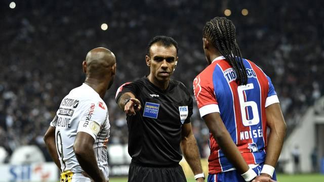 Dewson Freitas em Corinthians x Bahia