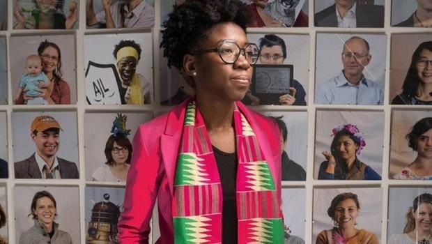 Joy Buolamwini é autora do estudo que testou softwares de reconhecimento facial  (Foto: Bryce Vickmark/MIT  )