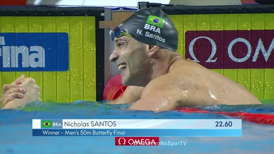 Nicholas mira ouro no borboleta em Mundial, mas prioriza os 50m livre para ir à Olimpíada de Tóquio