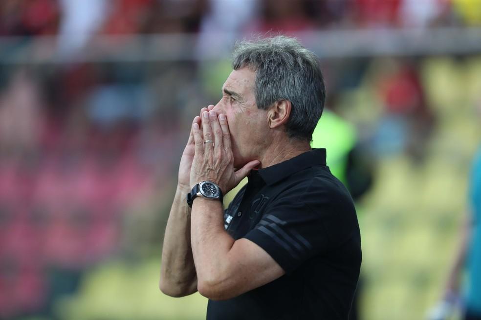 Paulo César Carpegiani tem estratégia montada no Flamengo (Foto: Gilvan de Souza/Flamengo)