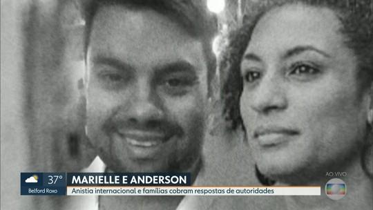 Marielle e Anderson: Anistia Internacional e famílias cobram respostas de autoridades