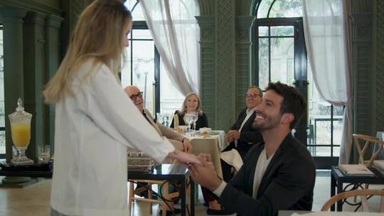 Carioca Palace é palco de pedido de casamento