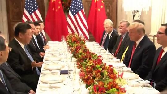 Estados Unidos e China concordam com trégua em guerra comercial
