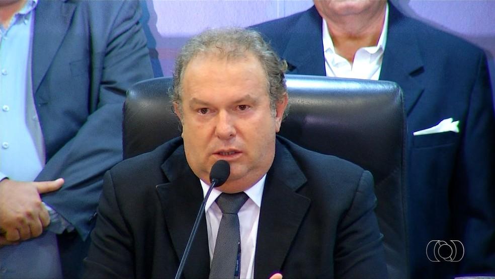 Governador Mauro Carlesse decretou novo corte de gastos no orçamento estadual — Foto: Reprodução/TV Anhanguera