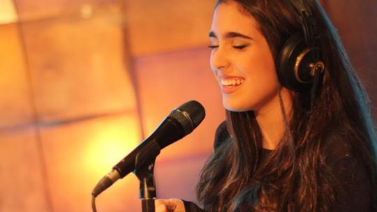 Vicky Valentim e Tábatha Almeida, do 'The Voice Kids', gravam dueto