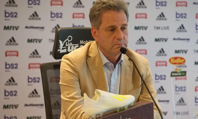 O Flamengo, de Rodolfo Landim, não concorda com a sugestão da APFUT