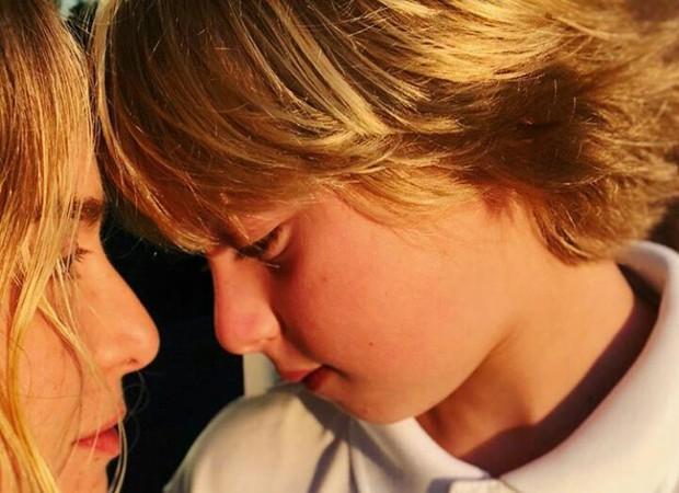 Angélica e o filho Benício (Foto: Reprodução/Instagram)