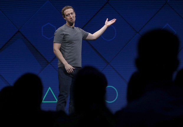 Mark Zuckerberg, CEO do Facebook (Foto: Justin Sullivan/Getty Images)