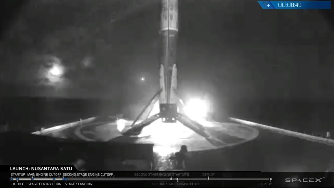Lançamento da Beresheet foi realizado em Cabo Canaveral, nos Estados Unidos (Foto: Reprodução/Twitter/SpaceX)